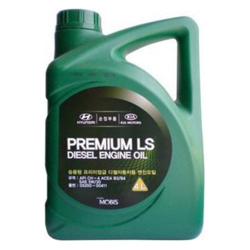 Моторное масло HYUNDAI/KIA Premium LS Diesel 5W-30 6л. полусинтетическое [05200-00611]