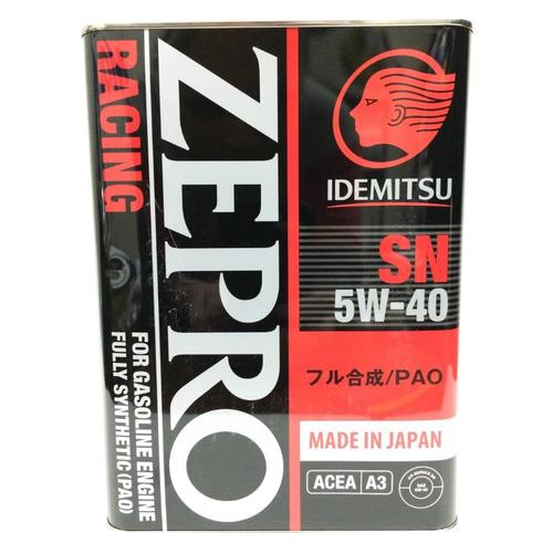 Моторное масло IDEMITSU Zepro Racing 5W-40 4л. синтетическое [3585004]