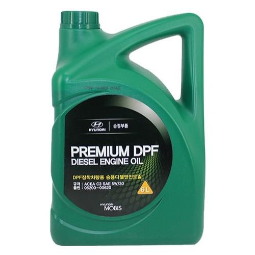 Моторное масло HYUNDAI/KIA DPF Diesel 5W-30 6л. синтетическое [05200-00620]
