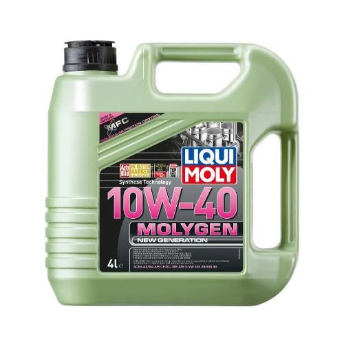 Фото - Моторное масло LIQUI MOLY Molygen New Generation 10W-40 4л. полусинтетическое [9060] моторное масло liqui moly molygen new generation 10w 40 4 л