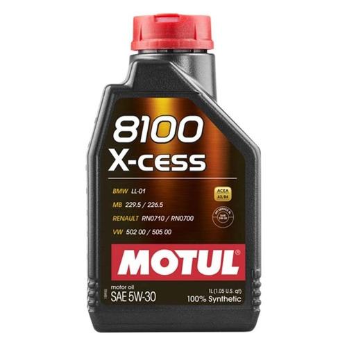 Моторное масло MOTUL 8100 X-cess 5W-30 1л. синтетическое [108944]