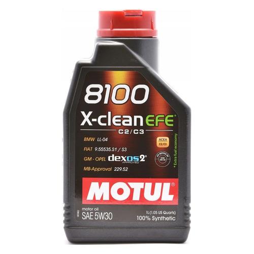Фото - Моторное масло MOTUL 8100 X-clean EFE 5W-30 1л. синтетическое [109470] моторное масло mitsubishi genuine oil 5w 30 1л синтетическое [mz320756]