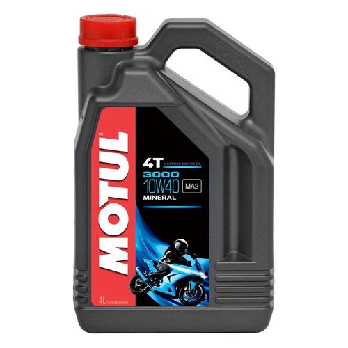 Моторное масло MOTUL 3000 4T 10W-40 4л. минеральное [107693]