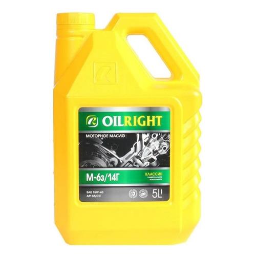 Моторное масло OILRIGHT М6-14Г 15W-40 5л. минеральное [2360]