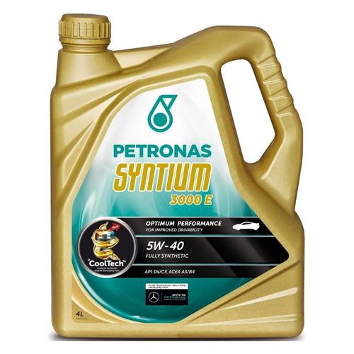 Моторное масло PETRONAS Syntium 3000 E 5W-40 4л. синтетическое [18054019]