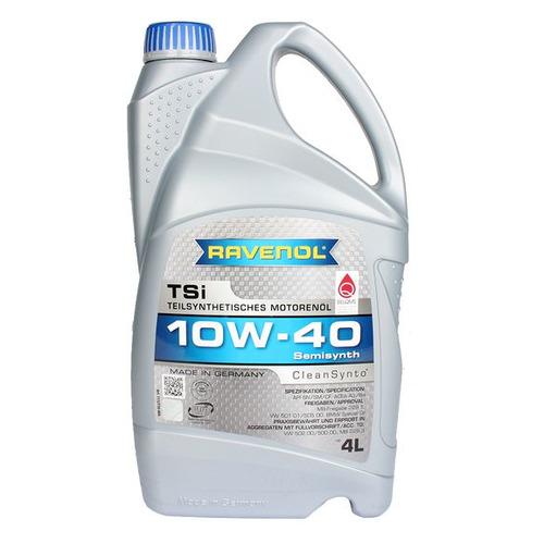 Моторное масло RAVENOL TSI 10W-40 4л. синтетическое [4014835724198] моторное масло ravenol tsi sae 10w 40 4 л
