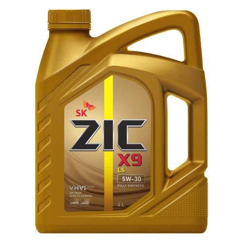 Моторное масло ZIC X9 LS 5W-30 4л. синтетическое [162608]