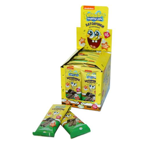 Кондитерское изделие DI&DI Губка Боб, шоколад, батончик, коробка, 20х20гр