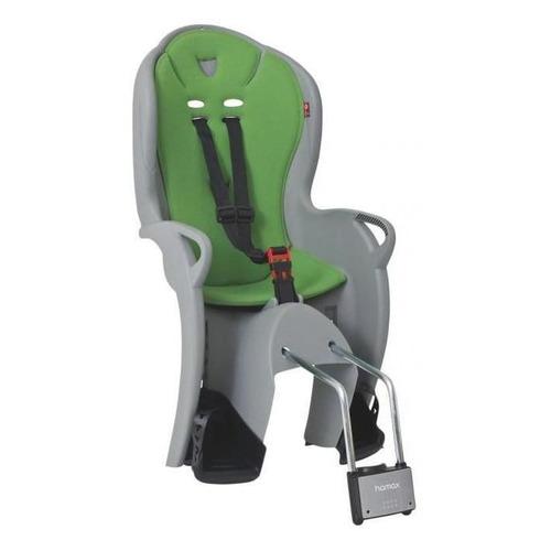Велокресло Hamax Kiss Medium 4350гр серый/зеленый (HAM551044)
