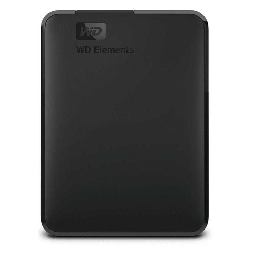 Фото - Внешний диск HDD WD Elements Portable WDBU6Y0050BBK-WESN, 5ТБ, черный внешний диск hdd wd elements portable wdbuzg5000abk wesn 500гб черный