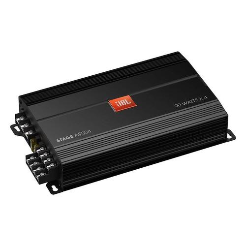 Усилитель автомобильный JBL STAGEA9004, черный