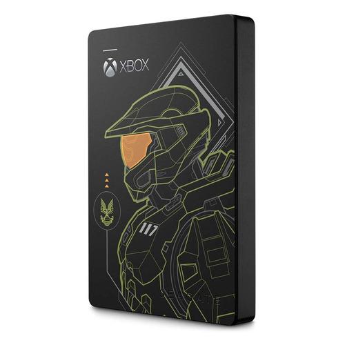 Фото - Внешний диск HDD SEAGATE Game Drive STEA2000431, 2ТБ, черный/зеленый внешний диск hdd seagate game drive stea4000407 4тб белый
