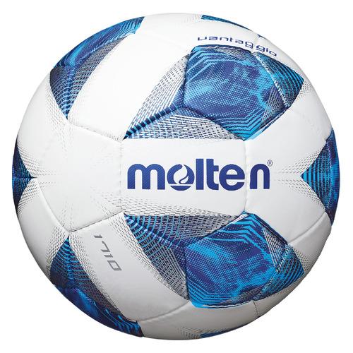 Мяч футб. Molten U1JYQI5SE4 р.4 для газона cиний/белый (F4A1710-.)