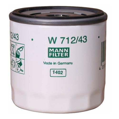Фото - Фильтр масляный MANN-FILTER W 712/43 фильтр масляный mann filter w 10 703