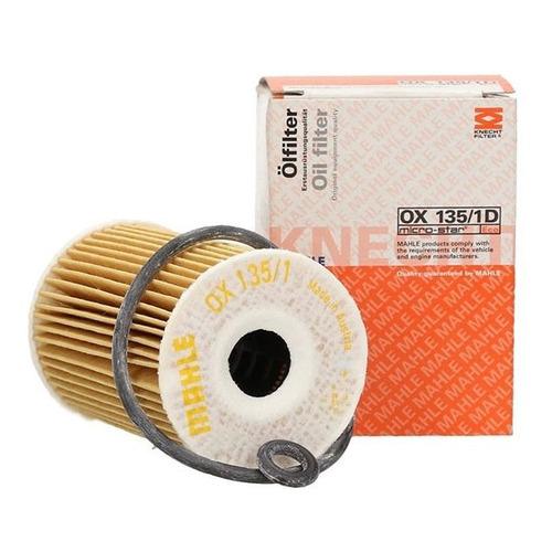 Фильтр масляный KNECHT/MAHLE OX135/1D панельный фильтр knecht lx1586