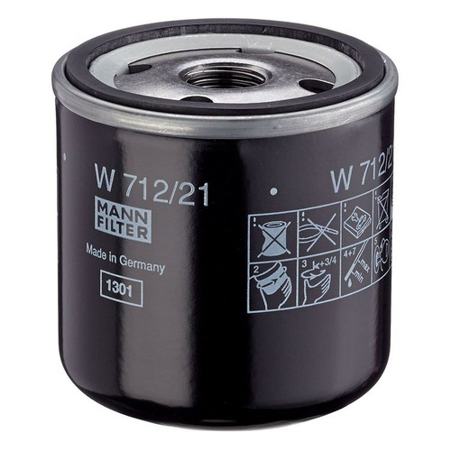 Фото - Фильтр масляный MANN-FILTER W 712/21 фильтр масляный mann filter w 10 703