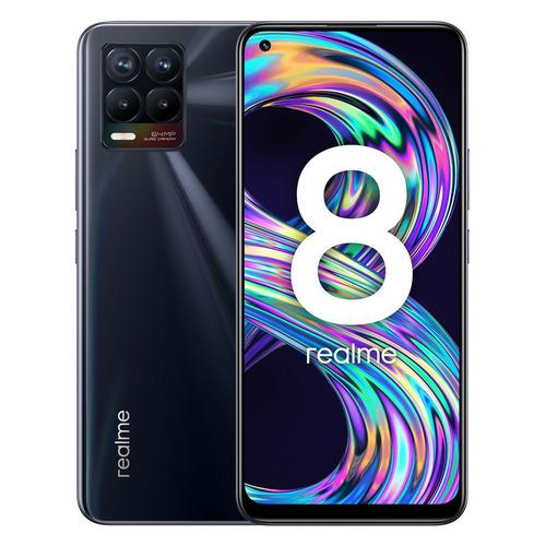 Смартфон REALME 8 6/128Gb, черный