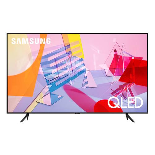 Фото - QLED телевизор SAMSUNG QE43Q60AAUXRU, 43, Ultra HD 4K телевизор samsung lcd 50 4k ue50tu7500uxru