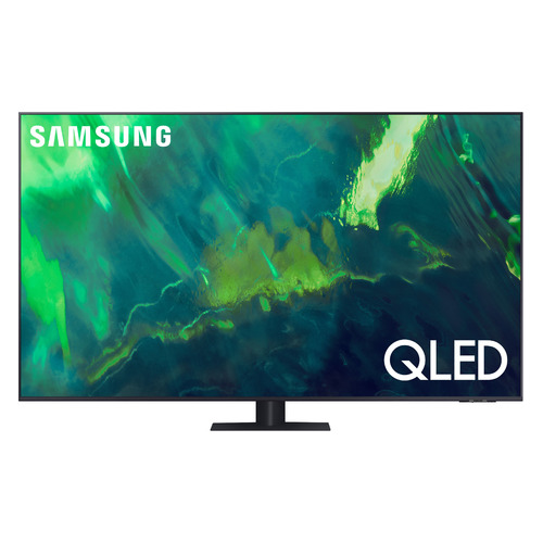 Фото - Телевизор Samsung QE55Q70AAUXRU, 55, QLED, Ultra HD 4K телевизор hisense 50u7qf 50 qled ultra hd 4k