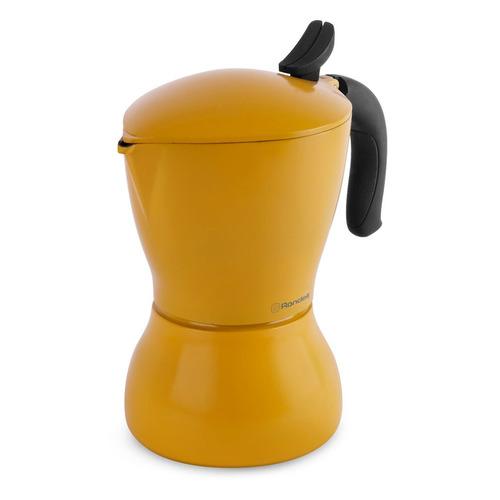 Кофеварка RONDELL Sole, гейзерная, желтый [1116-rd-01] недорого