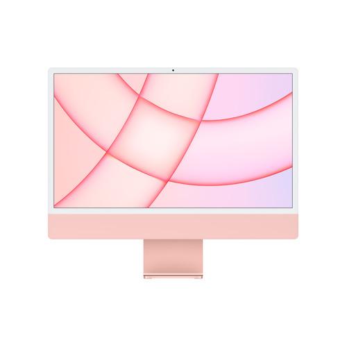 "Моноблок Apple iMac MGPM3RU/A, 24"", Apple M1, 8ГБ, 256ГБ SSD, Apple, macOS, розовый"