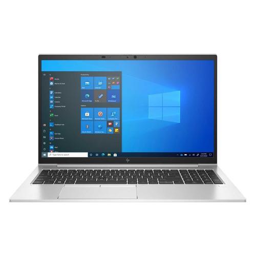 "Ноутбук HP EliteBook 850 G8, 15.6"", Intel Core i7 1165G7 2.8ГГц, 16ГБ, 512ГБ SSD, Intel Iris Xe graphics , Windows 10 Professional, 401K4EA, серебристый"