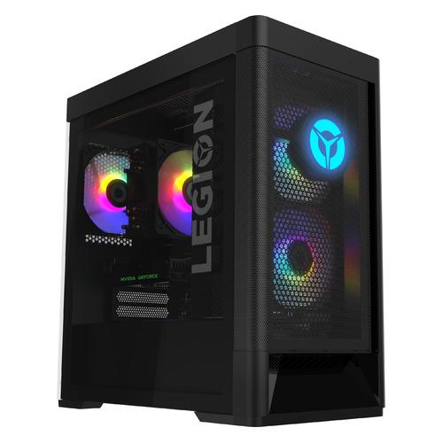 Компьютер Lenovo Legion T5 26IOB6, Intel Core i7 11700F, DDR4 16ГБ, 1000ГБ, 256ГБ(SSD), NVIDIA GeForce RTX 3070 - 8192 Мб, noOS, черный [90rt0048rs]