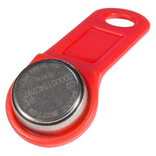 Фото - Ключ домофона TANTOS TM1990A iButton TS, красный [00-00068831] ключ домофона tantos tm1990a ibutton ts красный [00 00068831]