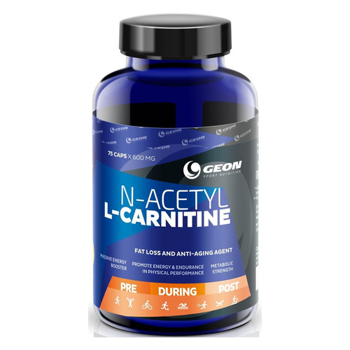 L-карнитин GEON N-Acetyl-L-Carnitine, капсулы, 75шт, 45гр
