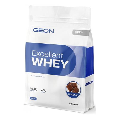 Протеин GEON Excellent Whey, порошок, 0.92кг, шоколад
