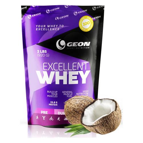 Протеин GEON Excellent Whey, порошок, 0.92кг, кокос