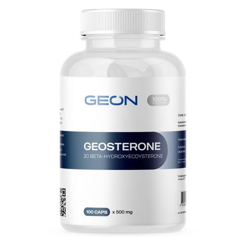 Экдистерон GEON Geosteron, таблетки, 100шт, 50, без вкуса