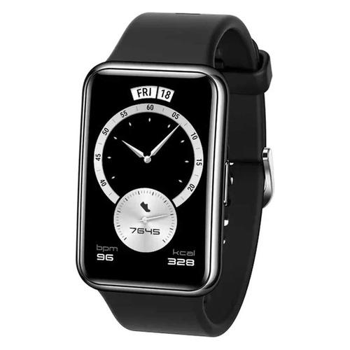 Смарт-часы HUAWEI Watch Fit Elegant TIA-B29, 1.64, серебристый / черный [55026301] смарт часы huawei watch fit tia b09 1 64 черный черный [55025871]