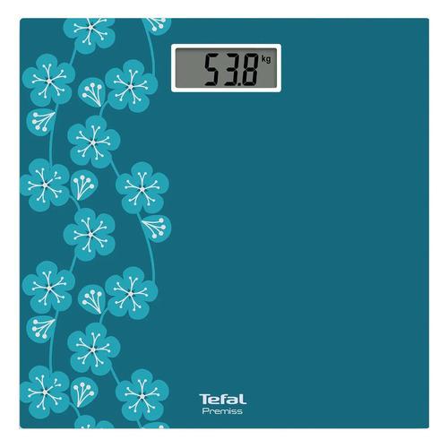 Напольные весы Tefal PP1433V0, до 150кг, цвет: голубой [1830008102]