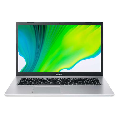 "Ноутбук ACER Aspire 5 A517-52-52CL, 17.3"", IPS, Intel Core i5 1135G7 2.4ГГц, 16ГБ, 512ГБ SSD, Intel Iris Xe graphics , Eshell, NX.A5DER.00B, серебристый"