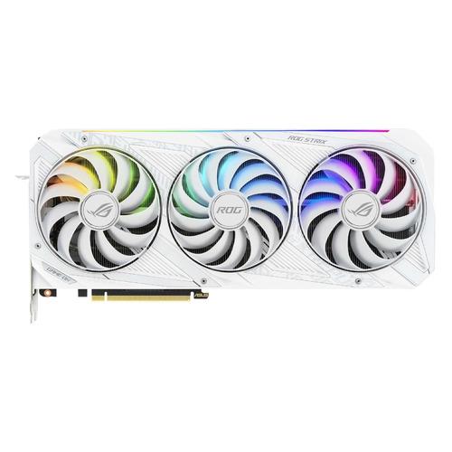 Видеокарта ASUS NVIDIA GeForce RTX 3080 , ROG-STRIX-RTX3080-O10G-WHITE, 10ГБ, GDDR6X, OC, Ret