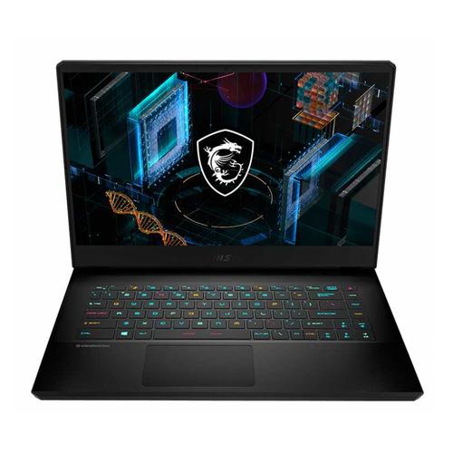 """Ноутбук MSI GP66 Leopard 11UG-285XRU, 15.6"""", IPS, Intel Core i7 11800H 2.3ГГц, 16ГБ, 512ГБ SSD, NVIDIA GeForce RTX 3070 для ноутбуков - 8192 Мб, Free DOS, 9S7-154322-285, черный"""