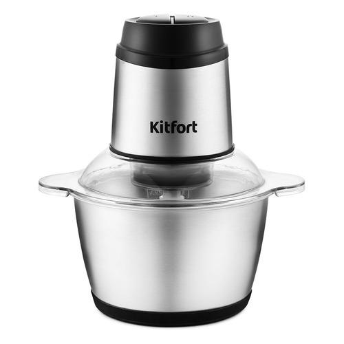 Измельчитель электрический Kitfort КТ-3025 2л. 250Вт серебристый