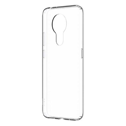 Фото - Чехол (клип-кейс) NOKIA Clear Case, для Nokia 3.4, прозрачный [8p00000107] чехол nokia 3 4 clear case transparent
