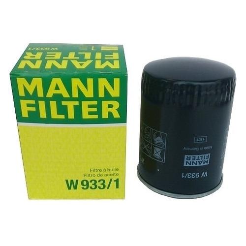 Фото - Фильтр масляный MANN-FILTER W 933/1 фильтр масляный mann filter w 10 703