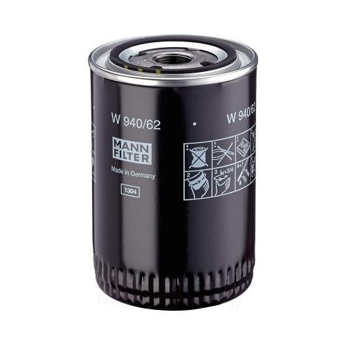Фото - Фильтр масляный MANN-FILTER W 940/62 фильтр масляный mann filter w 10 703