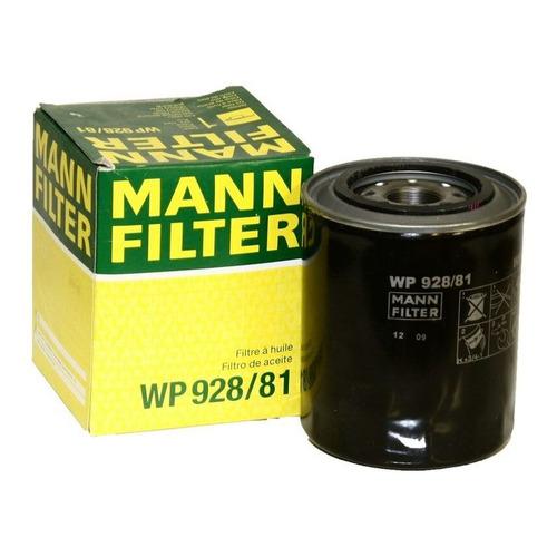 Фильтр масляный MANN-FILTER WP 928/81