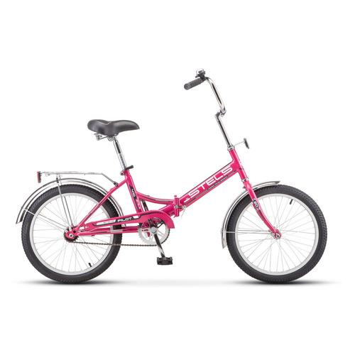"""Велосипед Stels Pilot-410 20"""" (Z011) городской складной малиновый"""