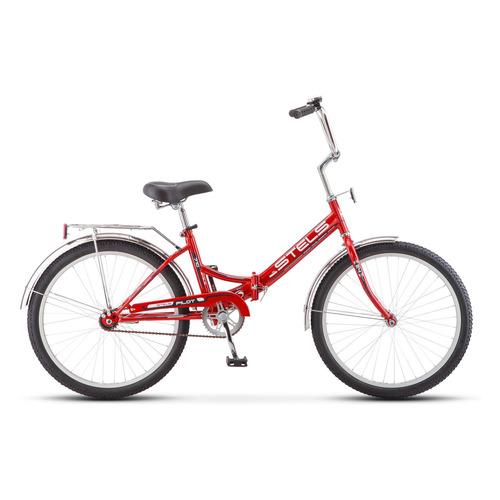 Велосипед Stels Pilot-710 (Z010) городской складной красный