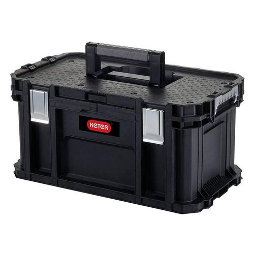 Ящик для инструментов KETER Connect tool box - STD EuroPRO, черный [239995]