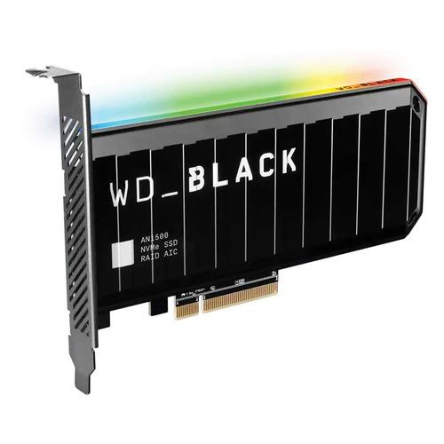 SSD накопитель WD Black AN1500 WDS400T1X0L 4ТБ, PCI-E AIC (add-in-card), PCI-E x8, NVMe накопитель ssd intel pci e x4 2tb ssdpedke020t710 dc p4600 pci e aic add in card