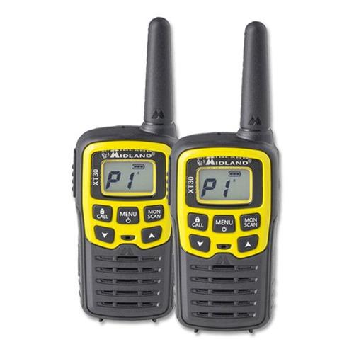 Комплект раций Midland XT30 16кан. компл.:2шт AAA черный/желтый (C1177.02)