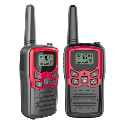 Комплект раций MDI Mini 8кан. компл.:2шт AAA черный/красный (M001.01)