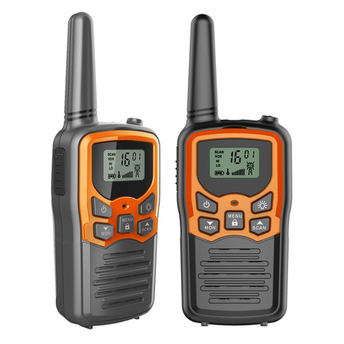 Комплект раций MDI Mini 8кан. компл.:2шт AAA черный/оранжевый (M001.03)