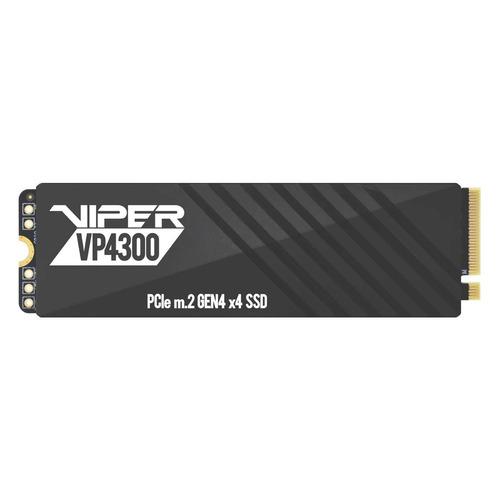 SSD накопитель Patriot Viper VP4300 VP4300-1TBM28H 1ТБ, M.2 2280, PCI-E 4.0 x4, NVMe твердотельный накопитель patriot memory viper 1000 gb vp4300 1tbm28h